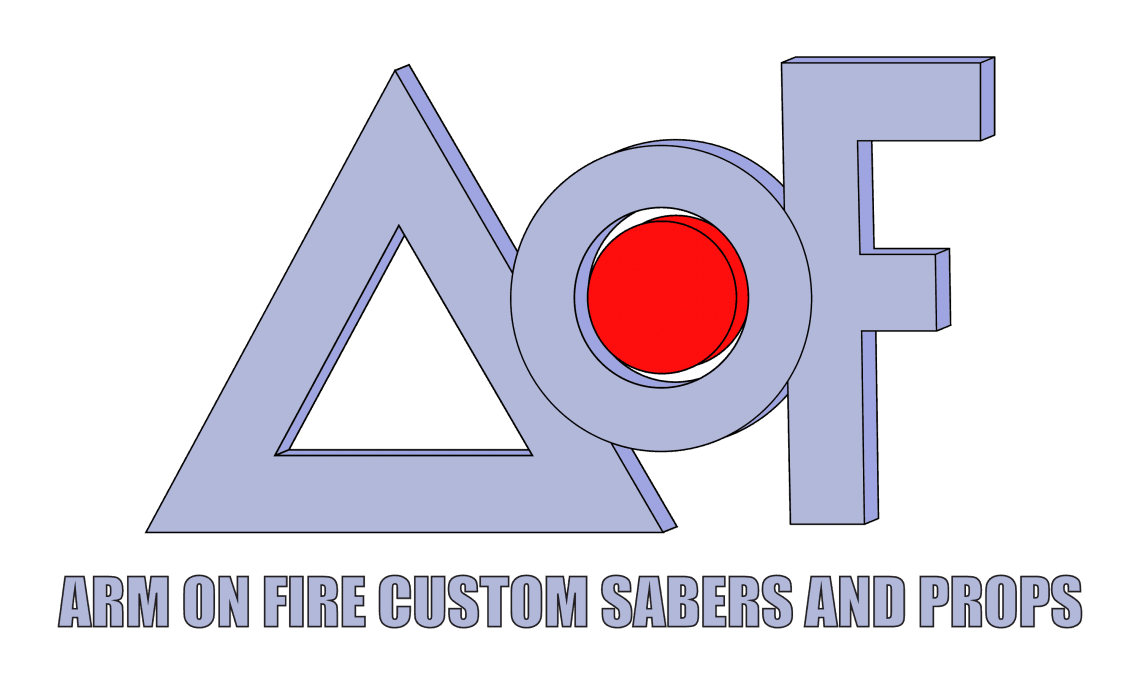 Aof: AOF Custom Designed Sabers And Props